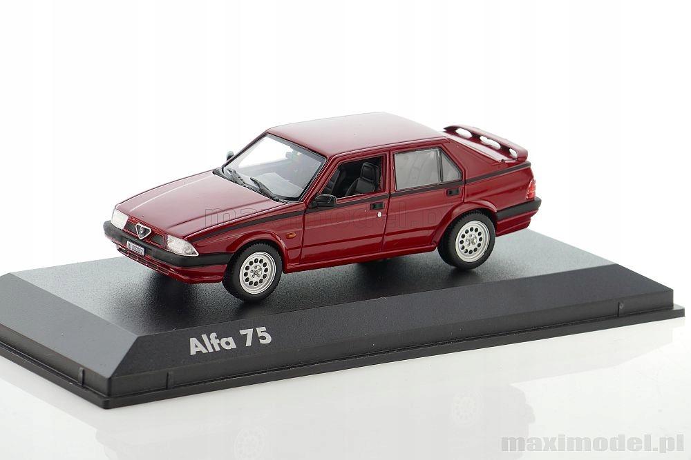 Alfa Romeo 75 1 43 Norev 790366 7639712437 Oficjalne Archiwum Allegro
