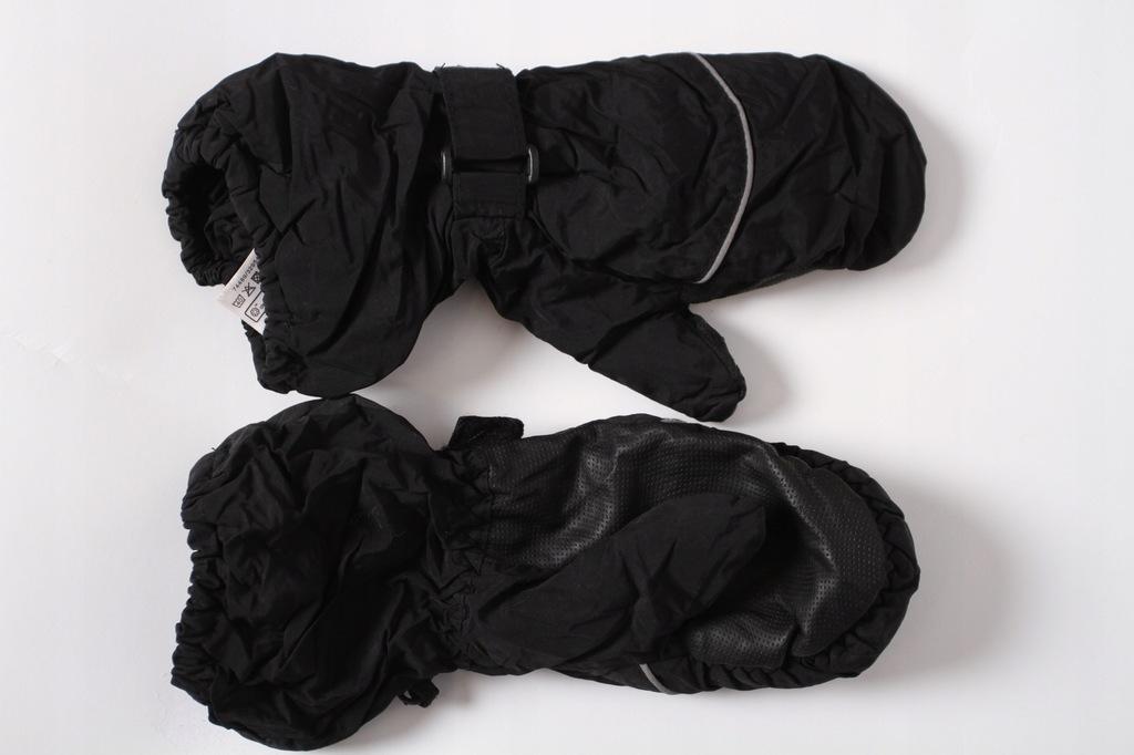 KAPPAHL rękawiczki zimowe r.122 6-8 lat czarne