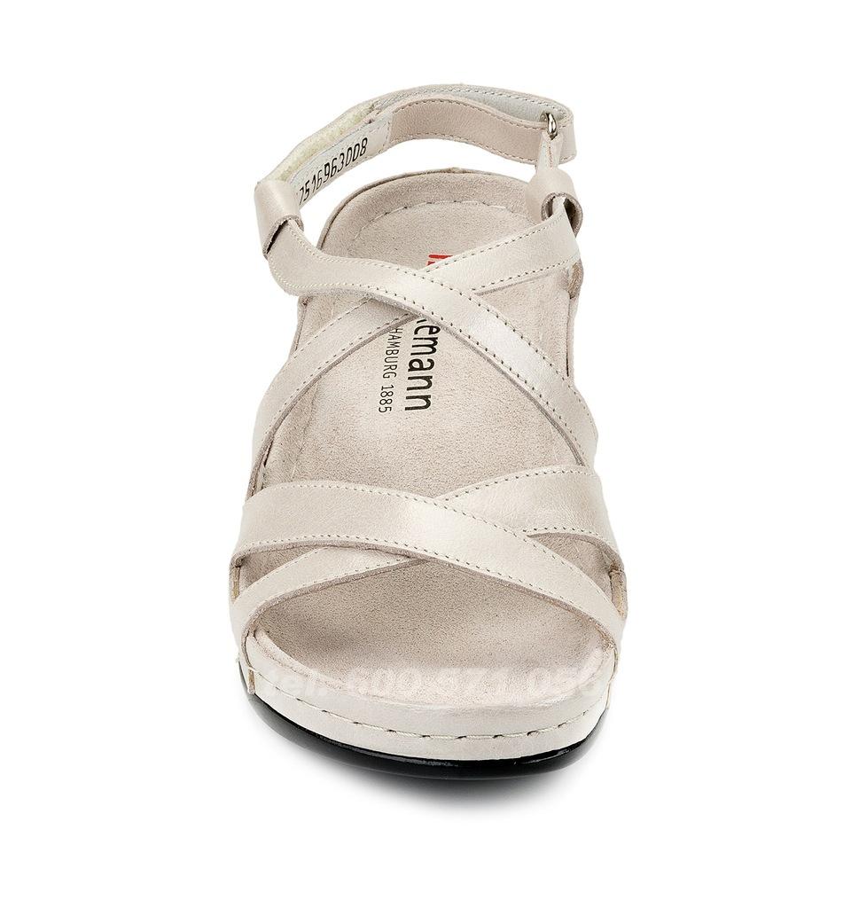 Zdrowotne sandały Berkemann COLETTA silber perlato