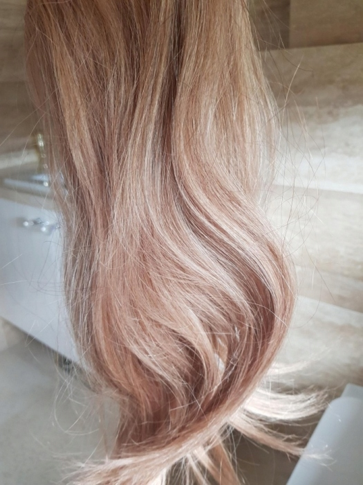 Wlosy Na Zylce Flip Hairtalk Hairband Nowe Blond 7451906225 Oficjalne Archiwum Allegro