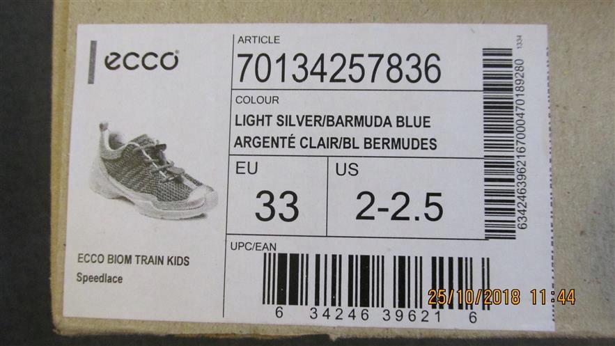 ECCO BIOM TRAIN KIDS SPEEDLACE 159 buty