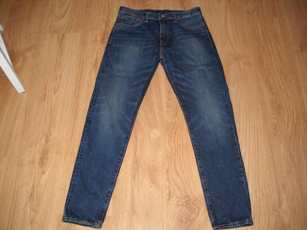 LEVI'S 512 spodnie męskie jeans 30/ 32 pas 80 BDB!