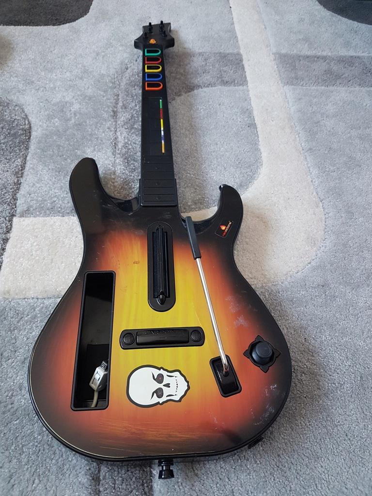 Gitara Guitar Hero Wii 7758273976 Oficjalne Archiwum Allegro