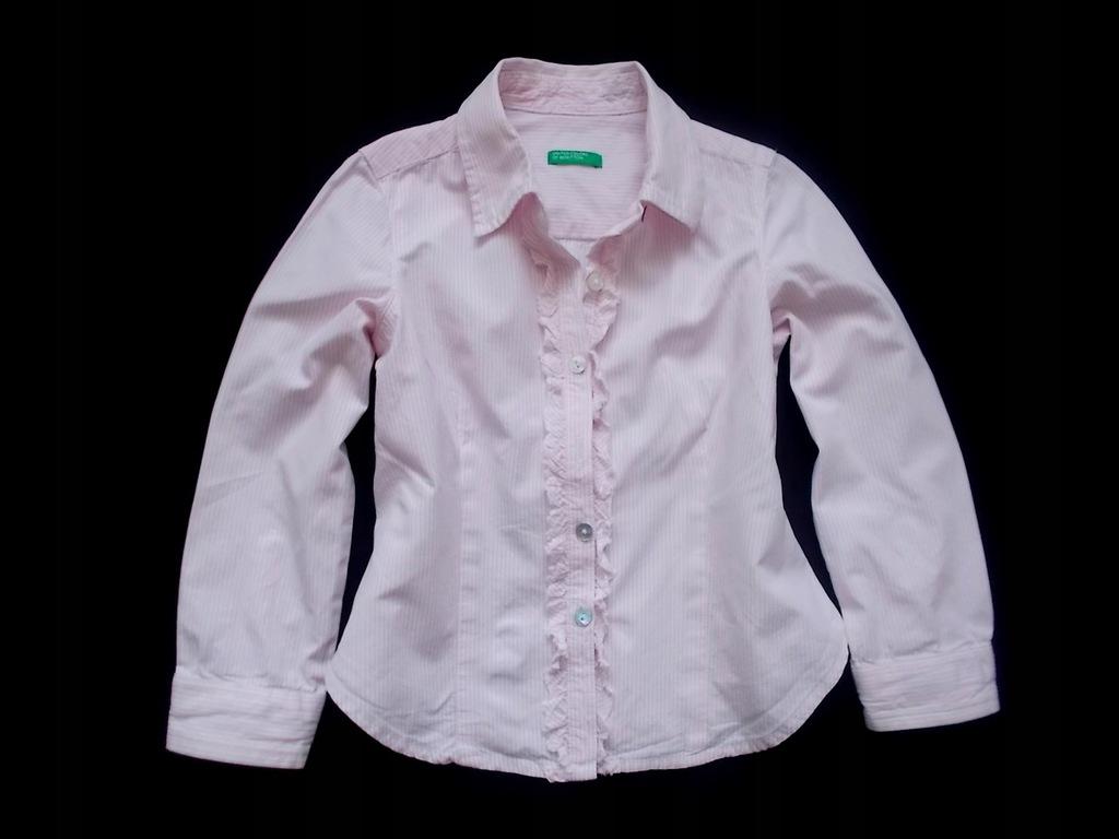 Benetton koszula falbanki.98 7776097528 oficjalne  pcmgk