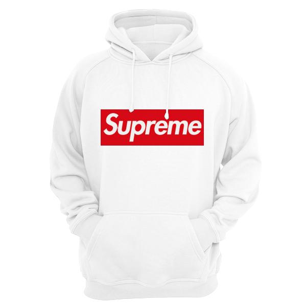 bluza supreme męska biała