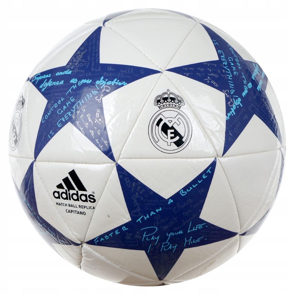Piłka nożna Adidas Real Madryt na prezent 5