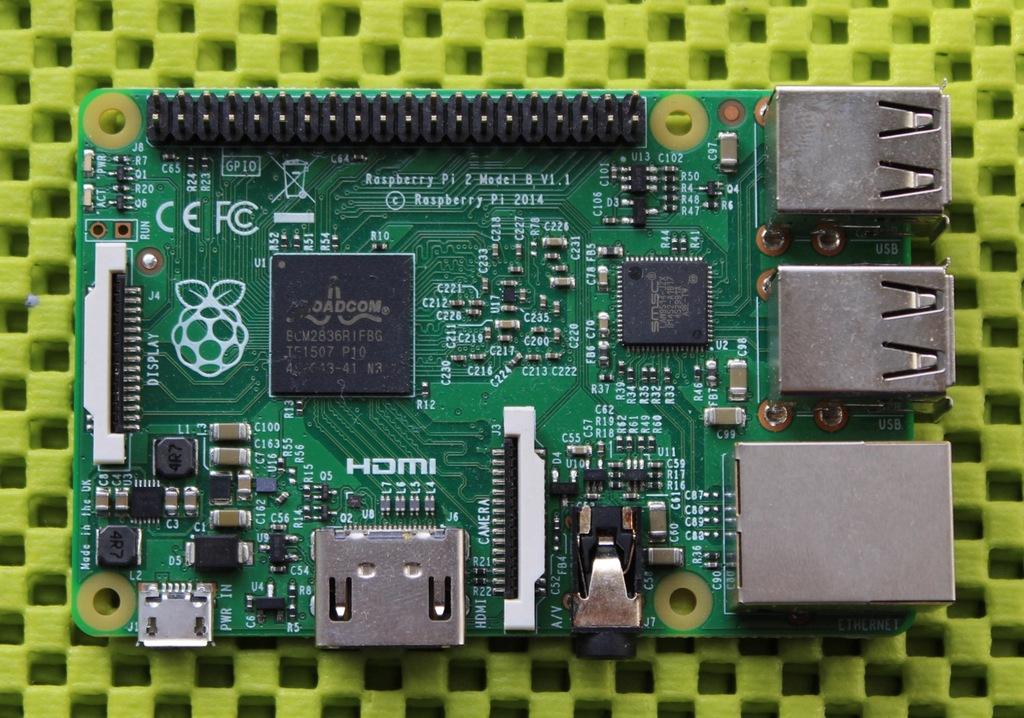 Raspberry Pi 2 model B+ V 1.2