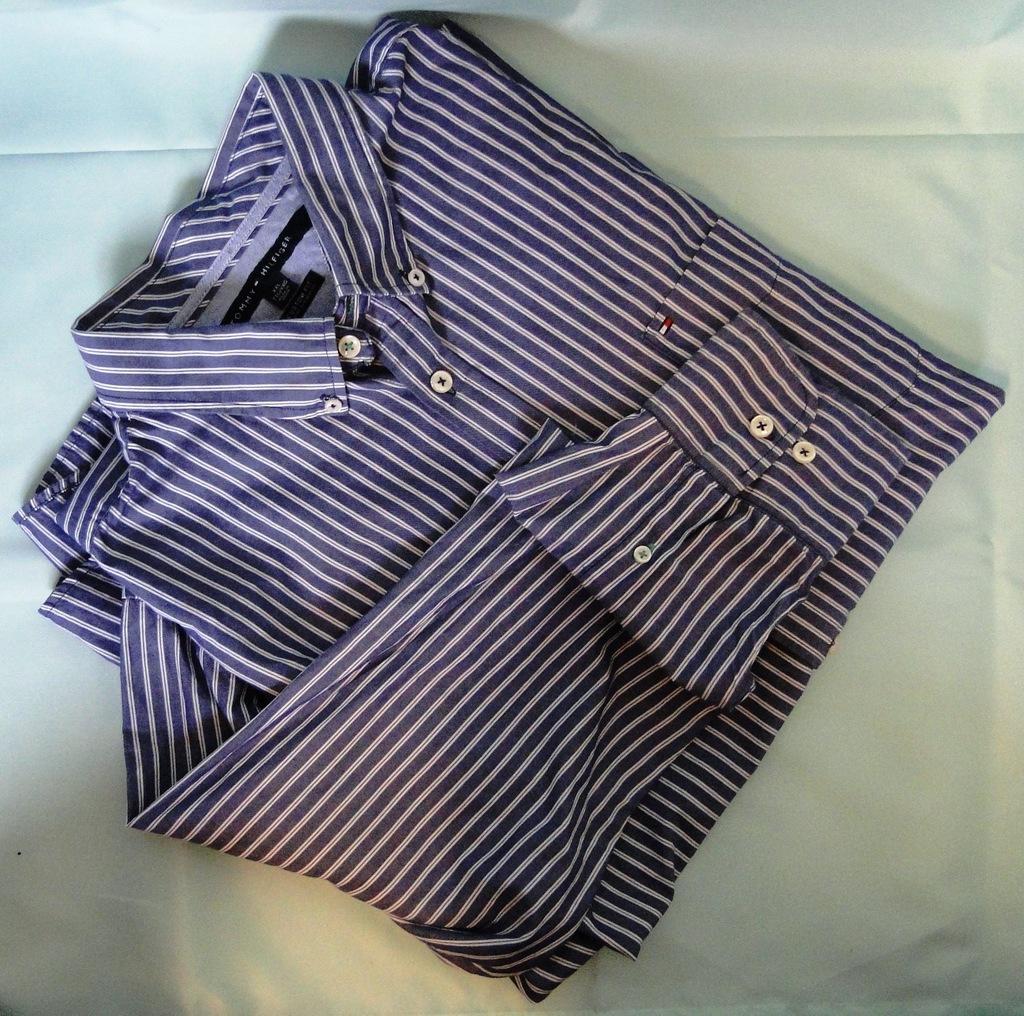 TOMMY HILFIGER - duża koszula męska rozm. XXL