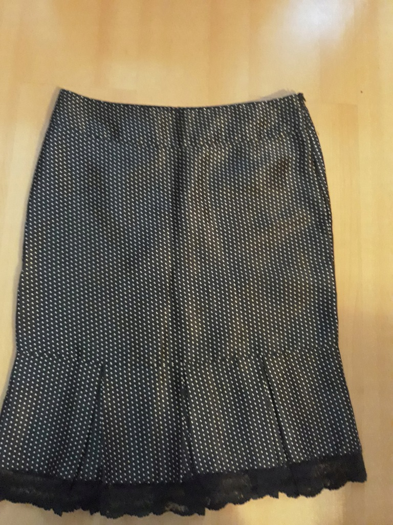Orsay Rozkloszowana spódnica w kropeczki