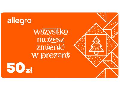 Karta Podarunkowa Allegro Swieta 50 Zl 7057097543 Oficjalne Archiwum Allegro