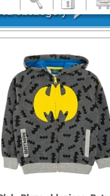 Zestaw komplet Bluza Spodnie Batman Cool club 92