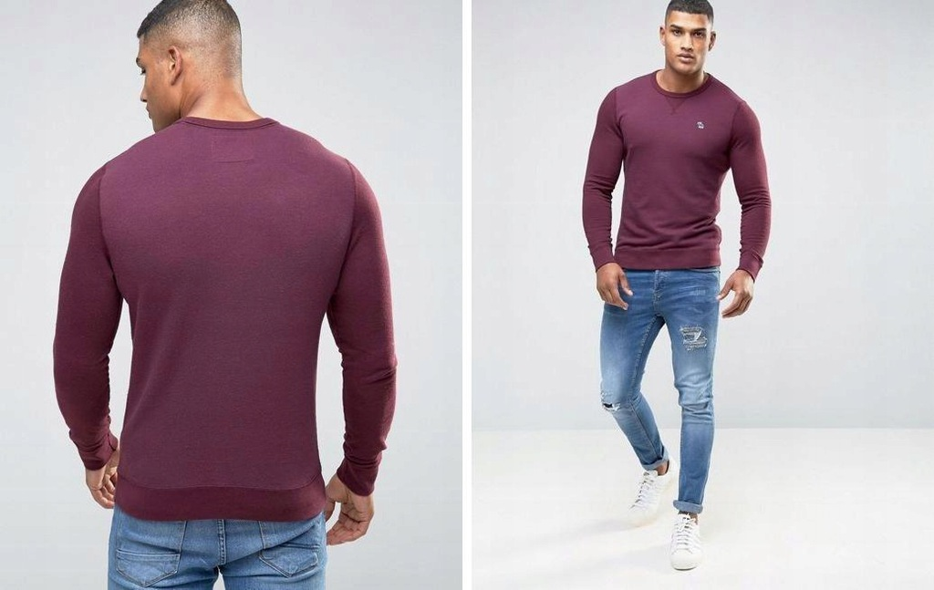 I008B19 SWETER MUSCLE ABERCROMBIE & FITCH L