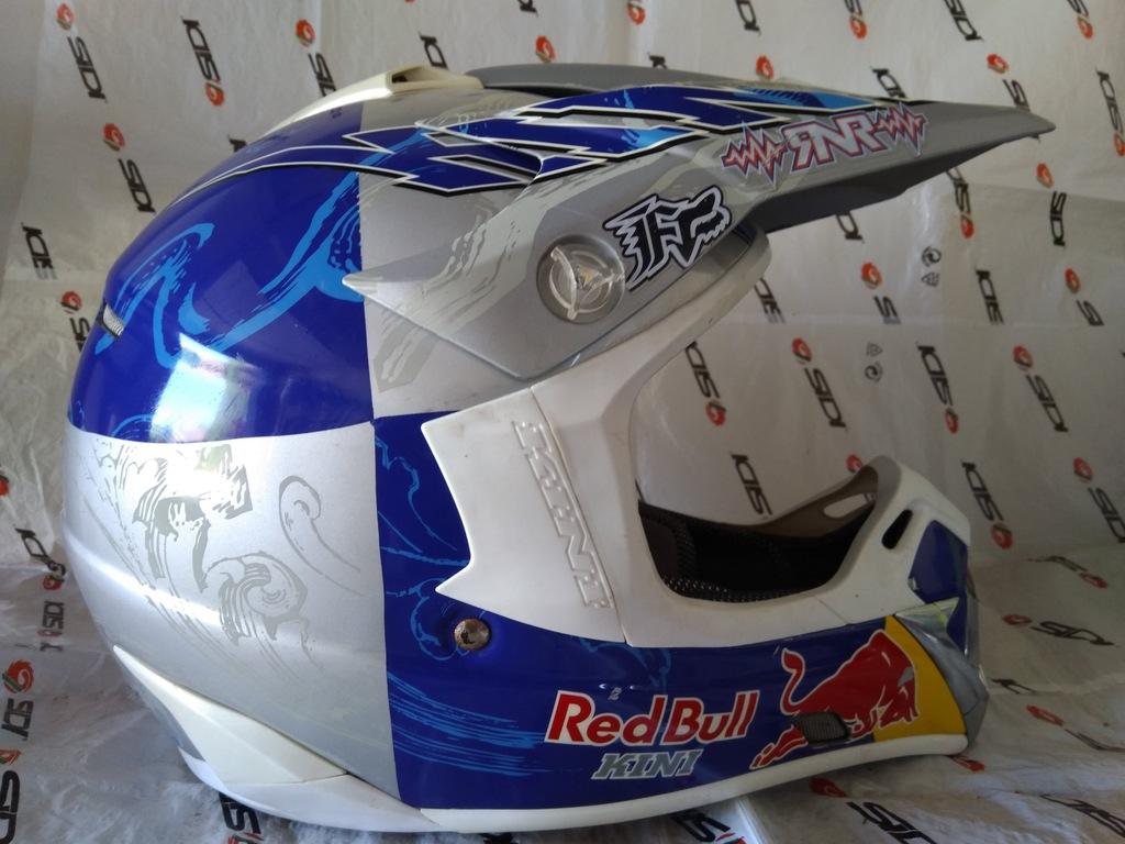 Kini Redbull Kask Enduro Motocross M Fox Airoh 7334018626 Oficjalne Archiwum Allegro