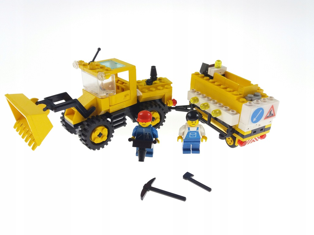 Lego System 6481 Construction Crew City