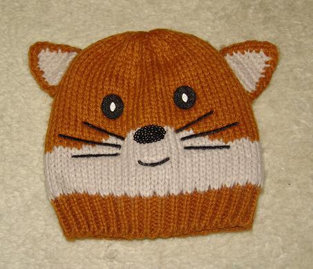 C&A czapka wełniana dla dziewczynki obwód 50cm