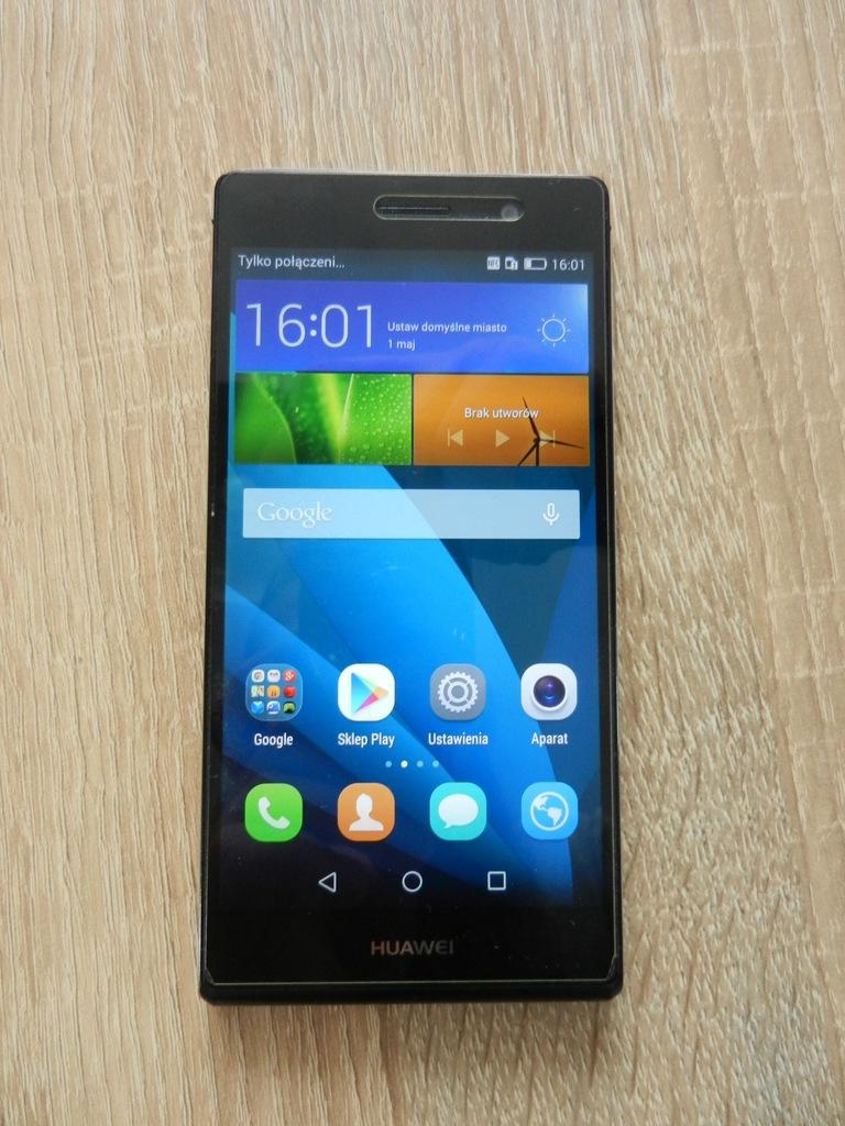Huawei P7 L10 Czarny Uzywany 7469670837 Oficjalne Archiwum Allegro