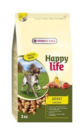 Happy Life - Adult Chicken 3 kg