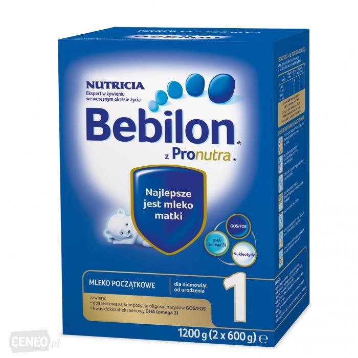 Bebilon 1 z Pronutra, mleko początkowe 1200g