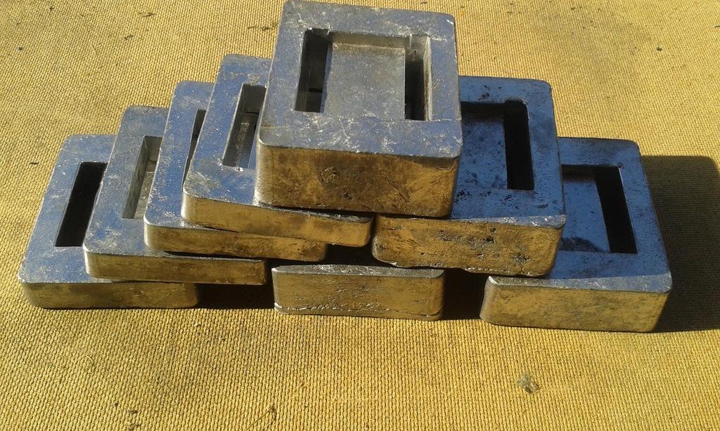 Balast nurkowy ołów kafel 2 kg - 25zł