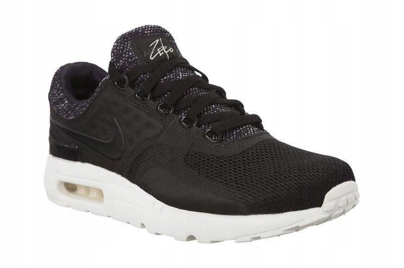 Czarne Tekstylne Buty Męskie Sportowe Nike r.42