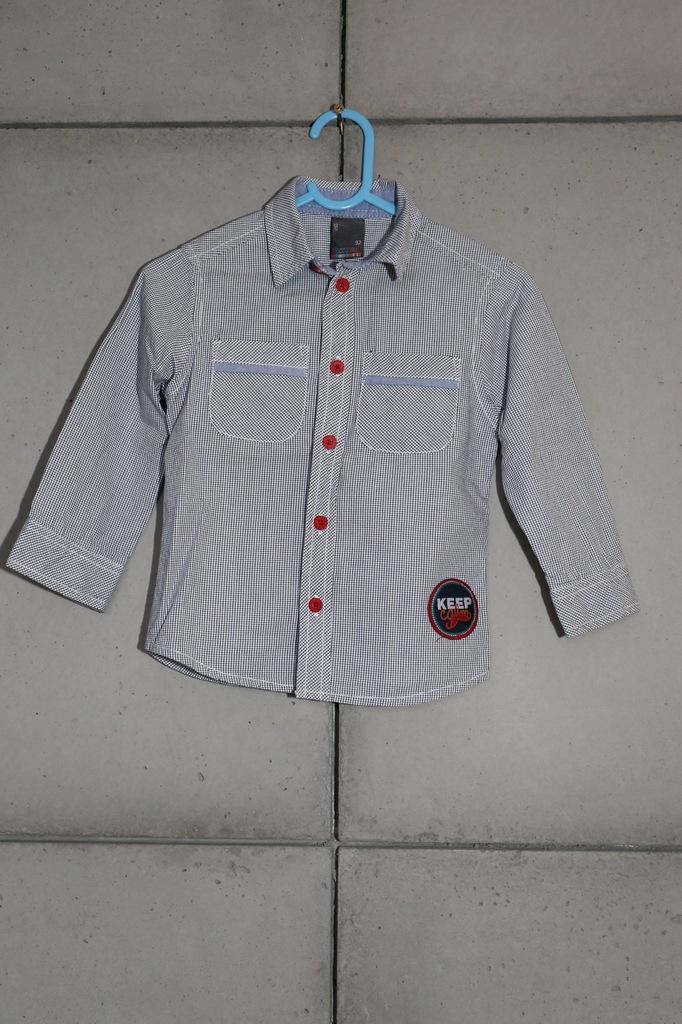 Koszula chłopięca Coccodrillo 92 super stan