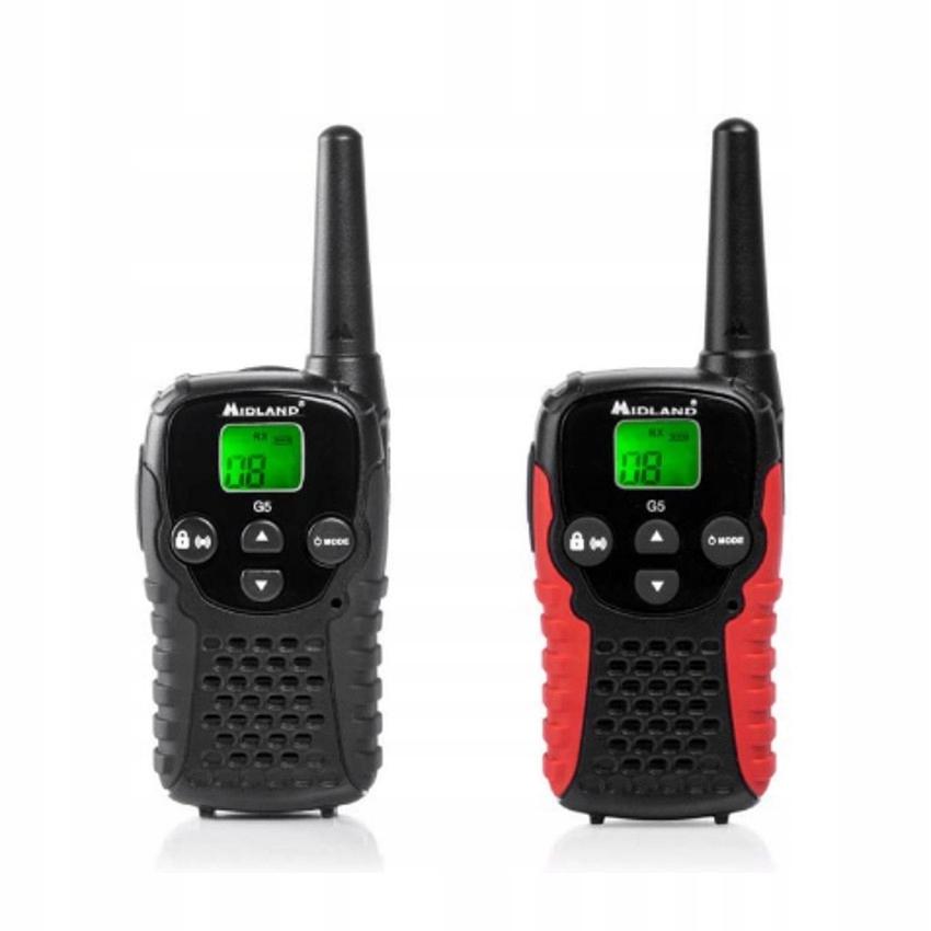 Radiotelefony ręczne PMR MIDLAND G5-C