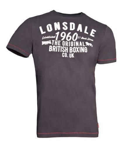 T-shirt Lonsdale London Norwich szary XXL