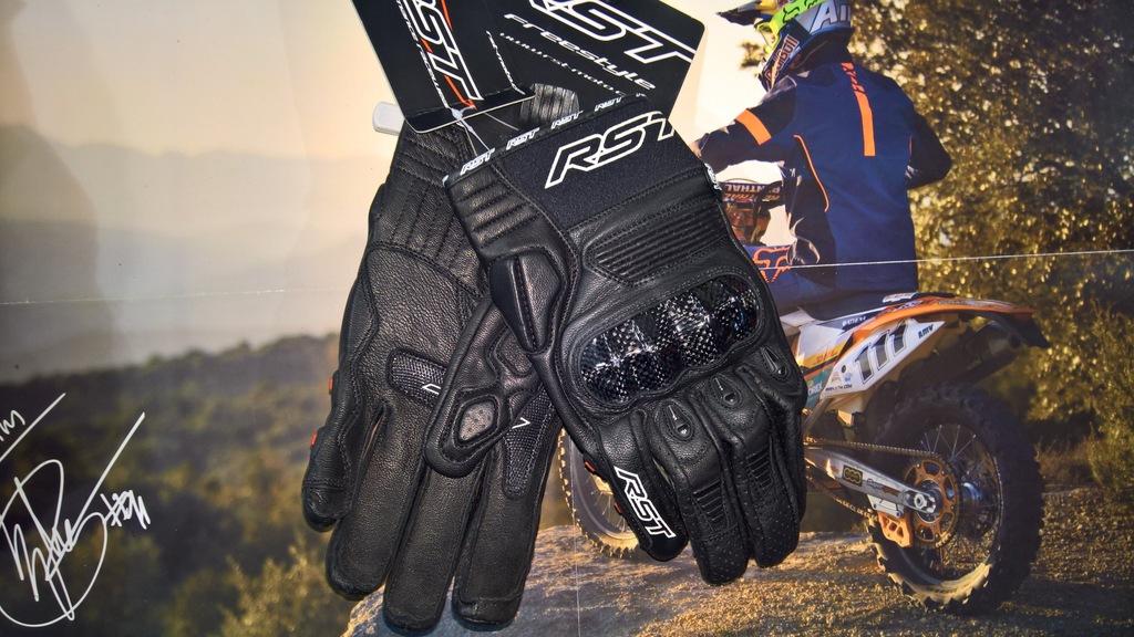 Rękawice RST Freestyle Black roz. L