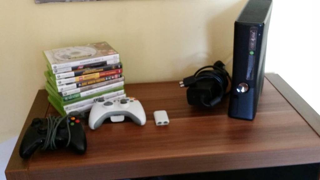 Xbox 360 4gb 2 Pady 13 Gier 7588377093 Oficjalne Archiwum Allegro