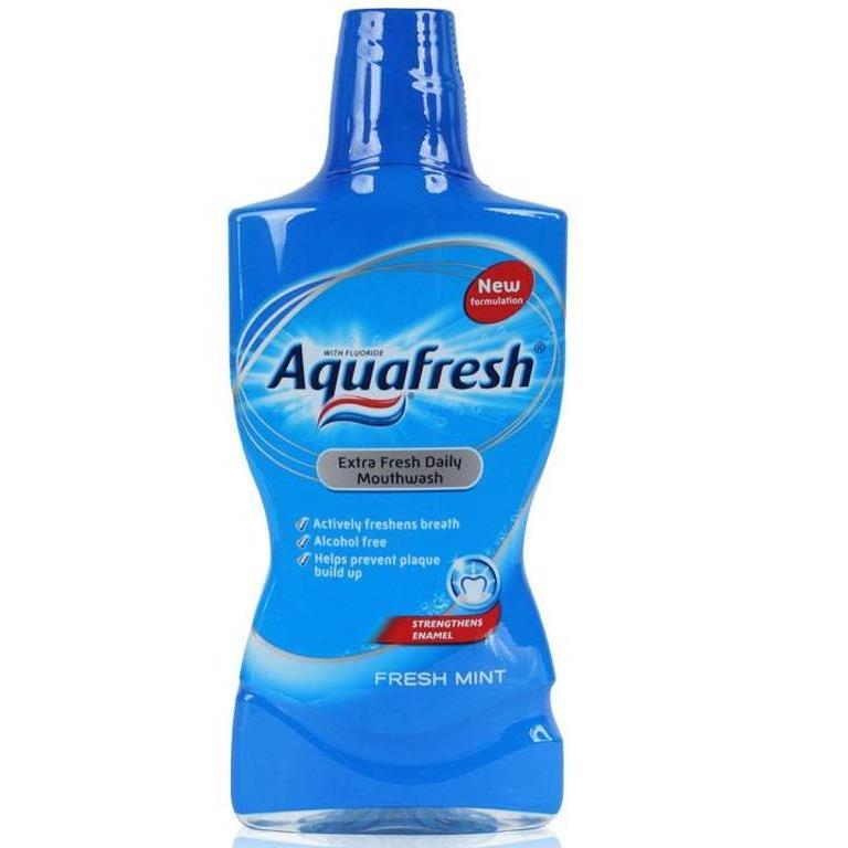 Aquafresh do płukania ust 500ml Fresh Mint