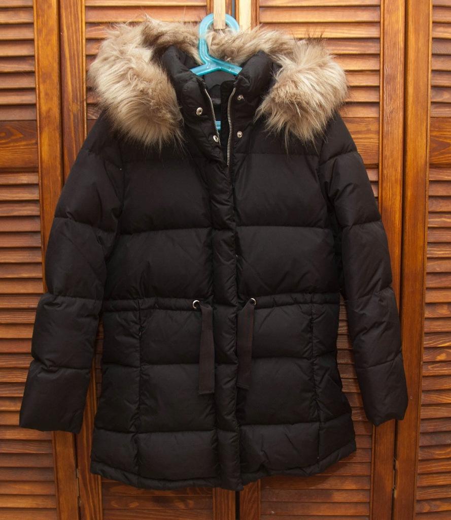 Płaszcz puchowy Zara rozmiar 152