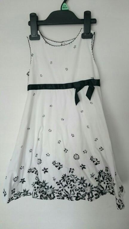 prześliczna sukienka st. Bernard r. 98