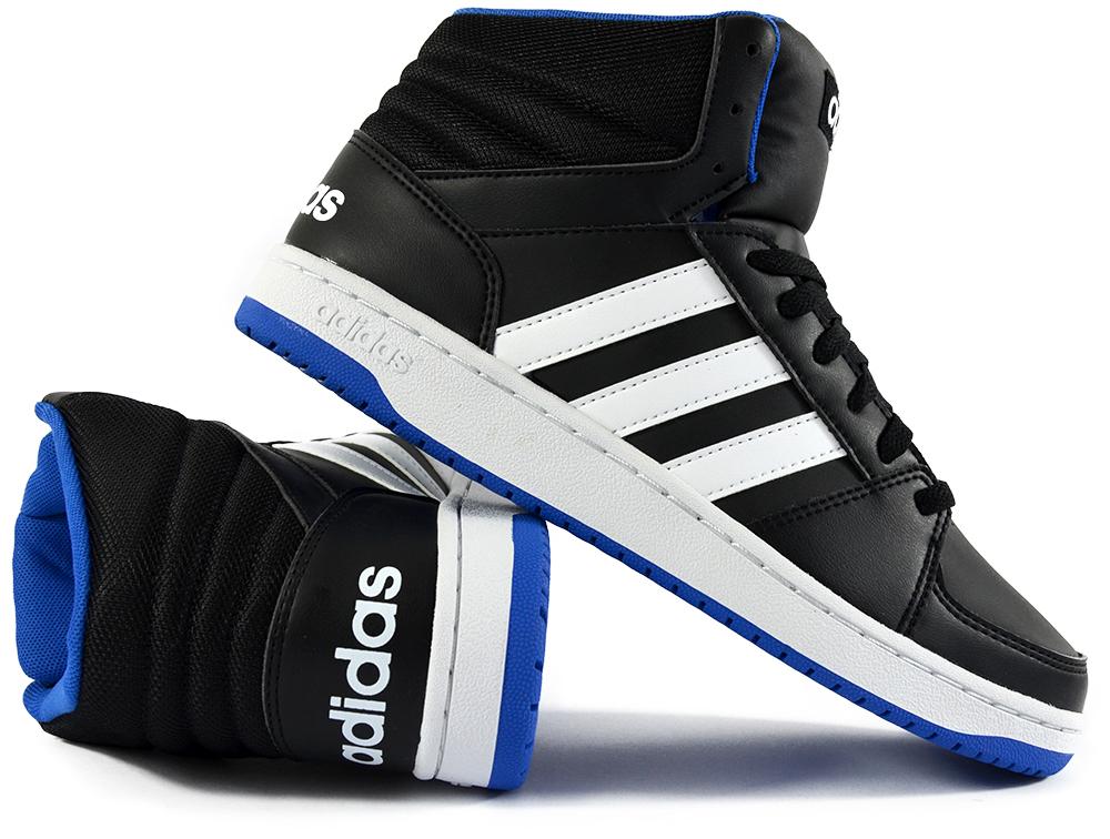 buty adidas hoops meskie niebieskie
