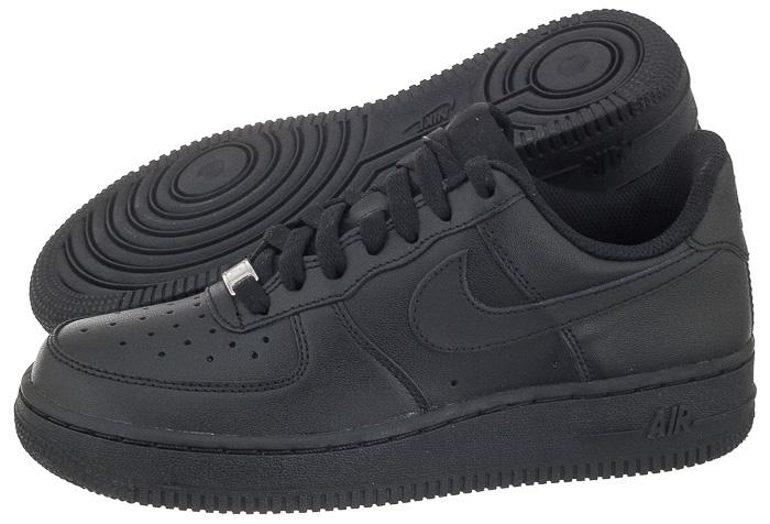 Buty Damskie Nike WMNS Air Force 1 `07 Czarne 6842688129