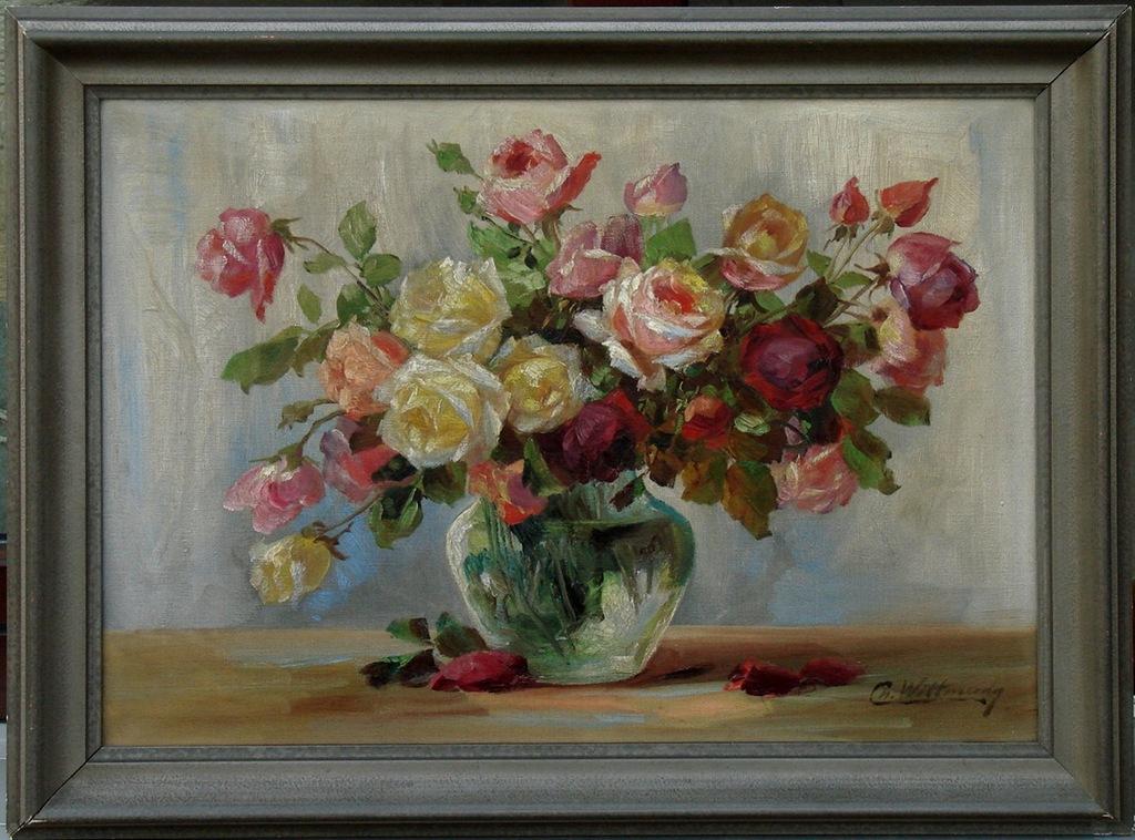 Bukiet kwiaty w Wazon malarstwo Vincenta van Gogha reprodukcji