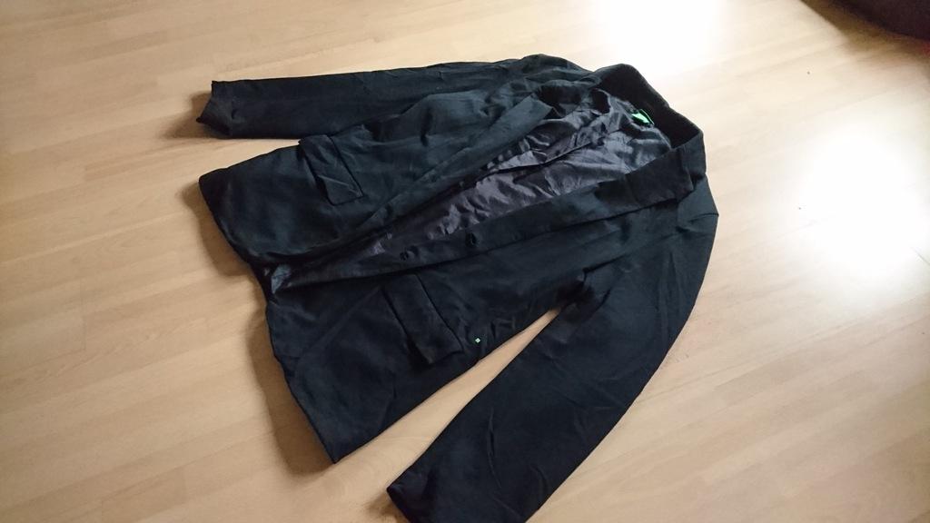 Hugo Boss Green marynarka czarna unikat oryginał