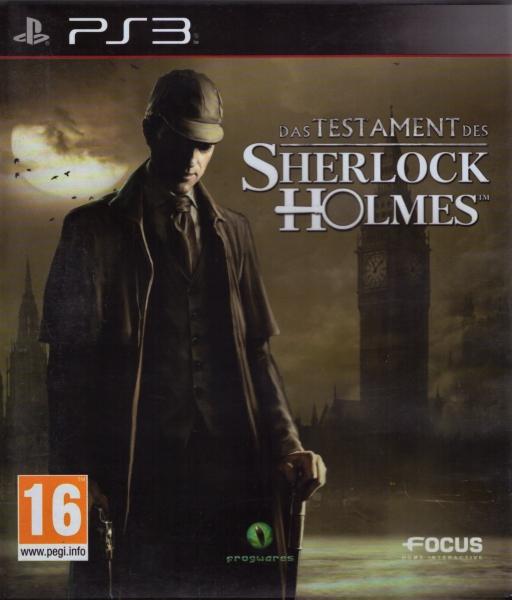 Testament Sherlocka Holmesa Sherlock Holmes Ps3 7752819505 Oficjalne Archiwum Allegro