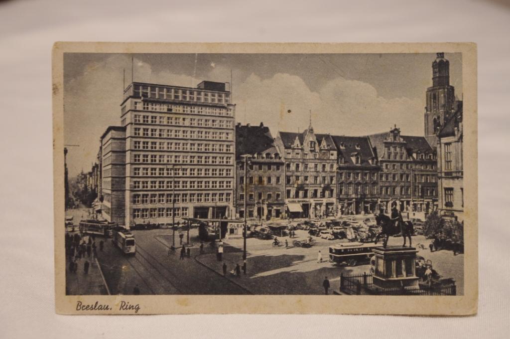 Wrocław Breslau Rynek