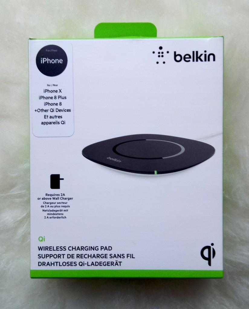 Belkin ladowarka indukcyjna Qi iPhone XXs8 inne