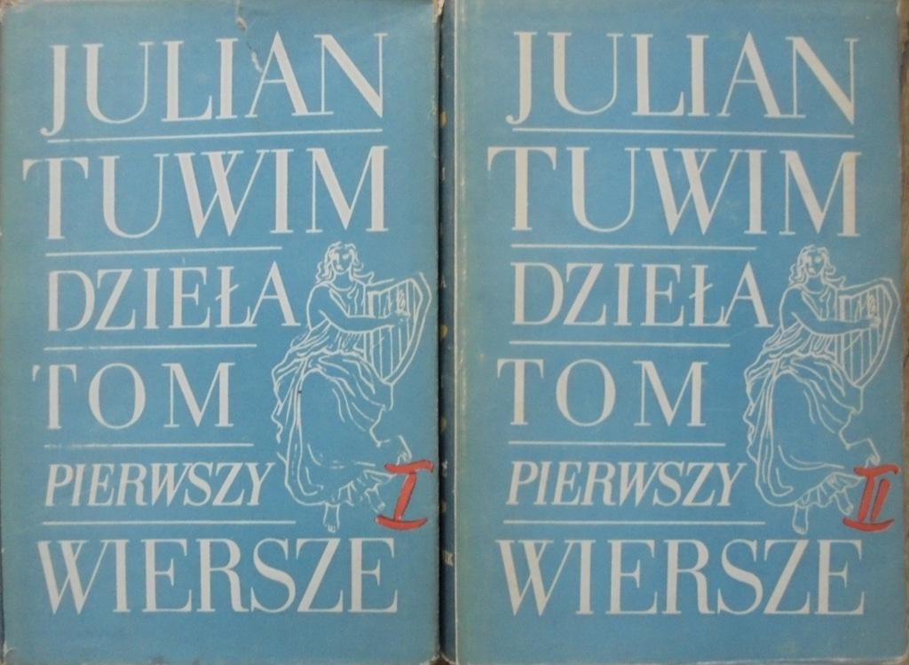 Julian Tuwim Wiersze Dzieła Tom 1 Komplet