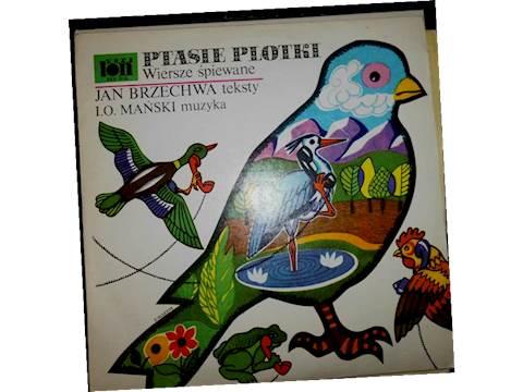 Ptasie Plotki Wiersze śpiewane Jan Brzechwa