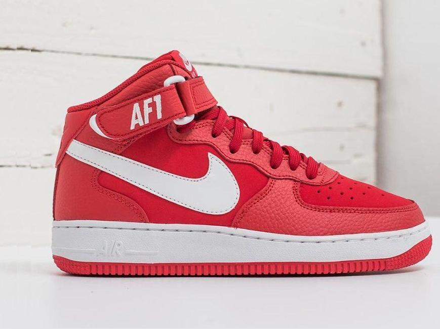 Damskie Nike AIR FORCE 1 314195 604 czerwone 38,5
