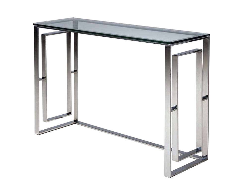 KONSOLA GG-1037 120x40x80cm szkło stal