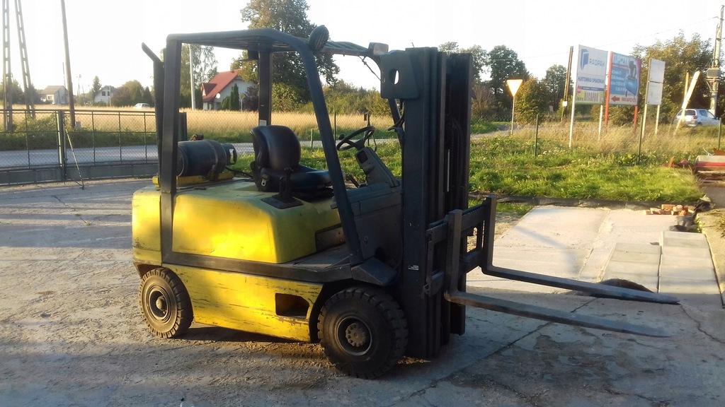 Wózek widłowy FIAT G25 2001r. 2,5t triplex 4m LPG