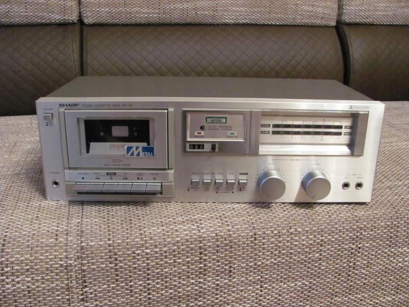 Magnetofon Deck Sharp RT-30 H , Japan