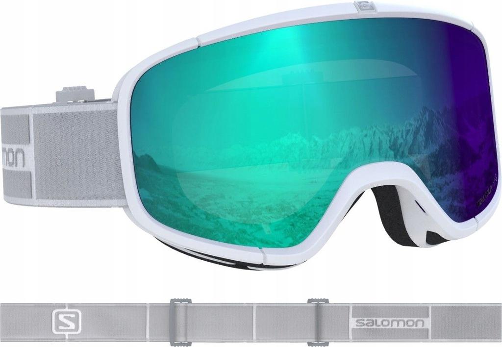 Gogle narciarskie Salomon Four Seven Photo Black Blue S1 S3
