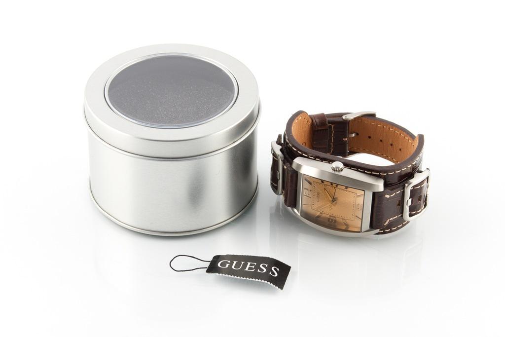 GUESS W0186G2 OKAZJA Zegarek męski elegancki 60%