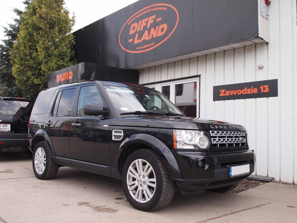 Land Rover Discovery IV SDV6 HSE 2011, DIFFLAND