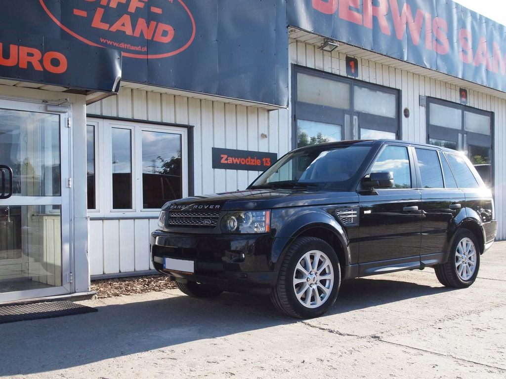 Land Rover Range Rover Sport 3,6l 2010, DIFFLAND