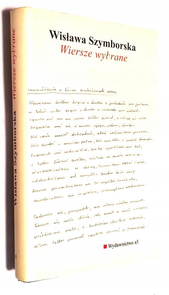 Wiersze Wybrane Wisława Szymborska Wow 7606636743